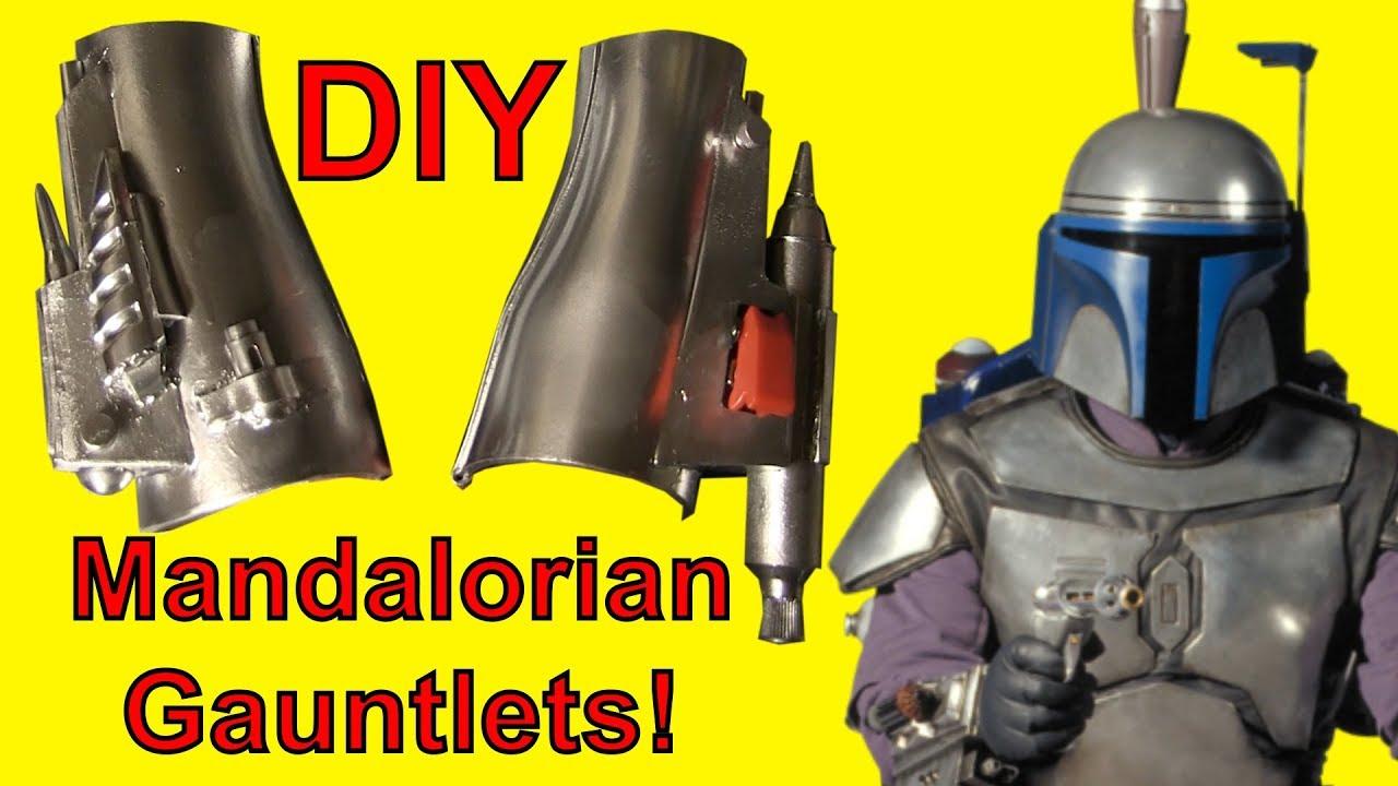 How To Make Mandalorian Gauntlets Youtube