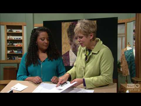 Sewing With Nancy - How To Sew Art, Part 1