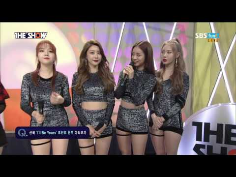 170328 Girl's Day 걸스데이 Interview @ The Show 1080P