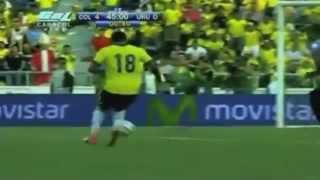 Colombia Vs Uruguay (4-0) Eliminatorias Mundial Brasil 2014
