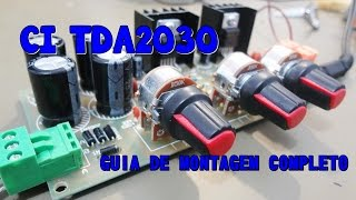 Video COMO MONTAR UM AMPLIFICADOR DE ÁUDIO TDA2030A - GUIA DE MONTAGEM COMPLETO. download MP3, 3GP, MP4, WEBM, AVI, FLV November 2017