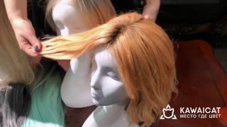 Натуральный парик на сетке  Обзор парика снаружи и изнутри(, 2016-12-12T16:51:00.000Z)