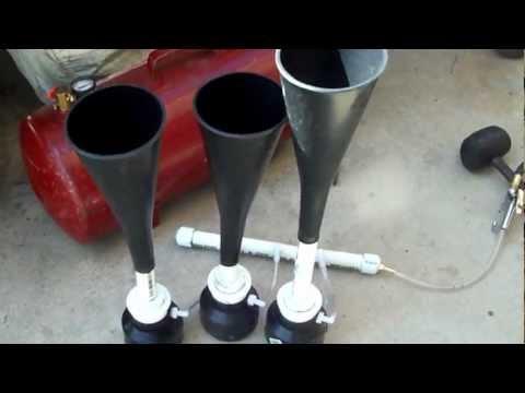 PVC TRAIN HORN