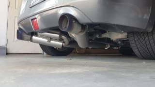 370z dna motoring catback exhaust cold