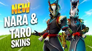 NOUVEAU NARA - TARO SKINS - Fortnite Best Moments - Fortnite Funny Moments #236