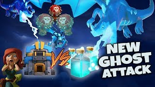 New Ghost TH12 Attack Strategy 2019! NEW Ghost Electro Dragon Attack with LavaLoon | Clash of Clans
