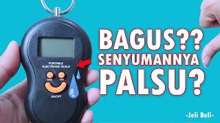 Review Timbangan Portable ( Portable Electronic Scale )