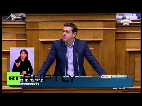 "Greece: PM Tsipras questions ""morality"" of German govt's debt demands"