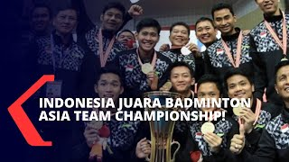 Libas Malaysia di Final, Indonesia Juara Badminton Asia Team Championship 2020