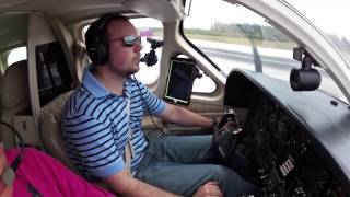 Naples Departure in the Cessna 414A | 414A vs 421C | Answering a Subscriber Question