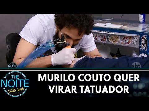 Murilo Couto quer virar tatuador  The Noite 040619