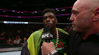 UFC 214: Aljamain Sterling Octagon Interview