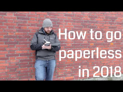 How to Go Paperless in 2018 - Interview With Dr. Thomas Roedl alias Tom Solid - VLOG#5