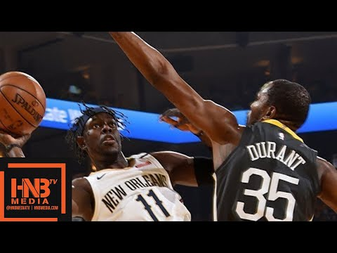 Golden State Warriors vs New Orleans Pelicans Full Game Highlights / Game 2 / 2018 NBA Playoffs