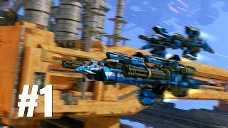 Strike Vector EX Gameplay Walkthrough Part 1 - No Commentary (PC)