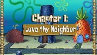 SpongeBob SquarePants - The Movie PC (Chapter 1: Love thy Neighbor) Gameplay