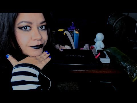 (( ASMR )) Role Play : Witch Makeover ( Halloween ) Makeup Hair Brushing