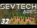 Minecraft - Building a FARM inside a GIANT TREE - Minecraft Sevtech: Ages Ep 32