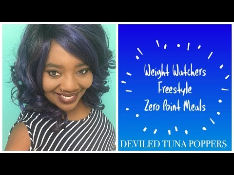 Cook With Me: Weight Watchers Freestyle Zero Pt Meal: Deviled Tuna Poppers