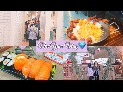 2019VLOG | CHILLING AT AEON MALL | NEW YEAR EVENT