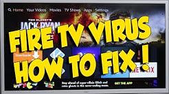 """FIRE TV FIRESTICK VIRUS """"TEST APP"""" - HOW TO FIX IT"""
