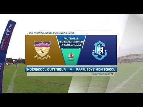 Premier Interschools Rugby - Hoërskool Outeniqua vs Paarl Boys High School - 1st Half