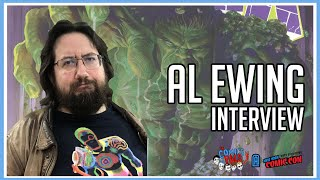 Al Ewing (Immortal Hulk) Interview - NYCC 2019