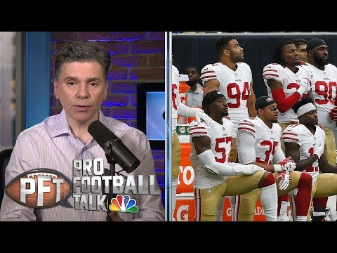 NFLPA files grievance over NFL's new anthem policy I Pro Football Talk I NBC Sports