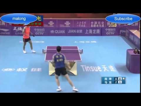 Ma Long vs Shang-kun - Table Tennis Super League 2015