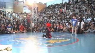 Baby Battle Unvsti 2012 B-boy Eudes vs B-girl Terra