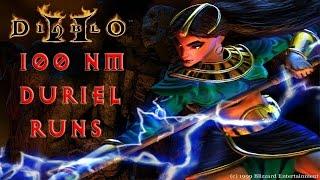 Diablo 2: 100 Nightmare Duriel Runs - Magic Find Results