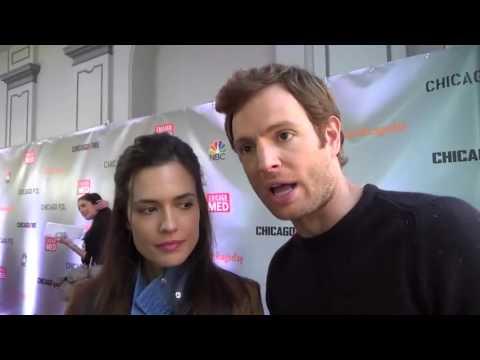 Chicago Med Interview: Nick Gehlfuss and Torrey DeVitto