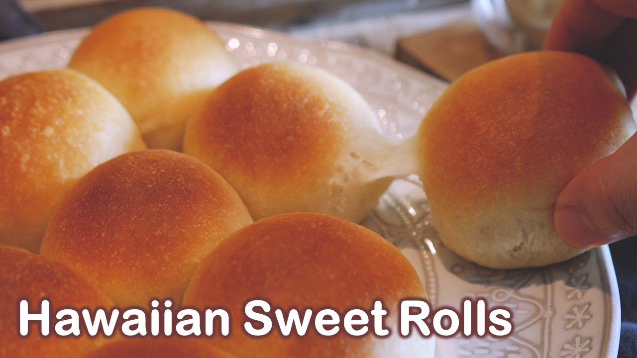 Homemade Hawaiian Dinner Rolls Sweet And Soft Milk Buns Costco Hawaiian Dinner Rolls Youtube