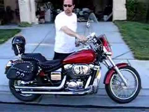 honda shadow spirit 750 2003 motorcycle youtube. Black Bedroom Furniture Sets. Home Design Ideas