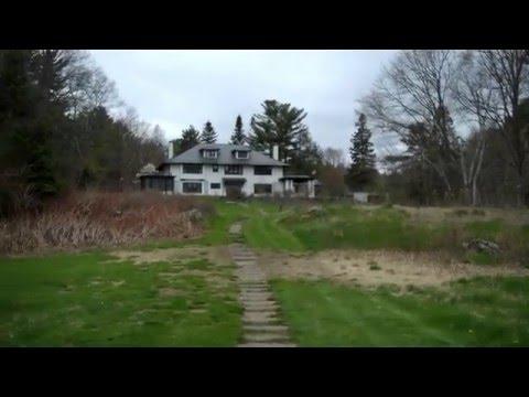 1913 Olmsted Brothers Designed Garden Landscape in Bangor, Maine