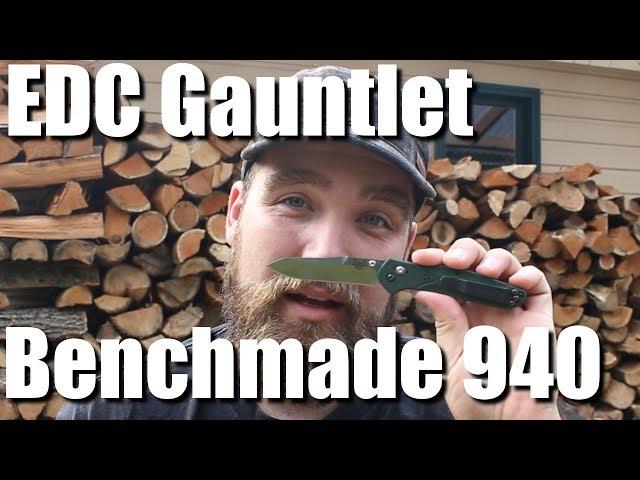 Benchmade 940 EDC Gauntlet Review #KnifeThursday Ep13 | RevHiker