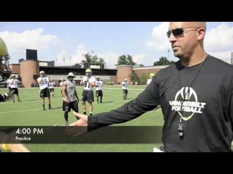 A Day in the Life of Vanderbilt Head Coach James Franklin