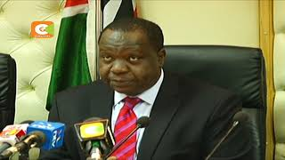 CS Matiang'i releases KCSE, KCPE timetable
