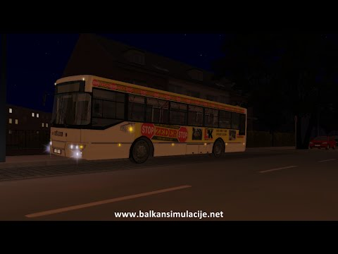 [OMSI 2] - Ikarbus IK-103 |WIP| on route 109 Hamburg Day & Night