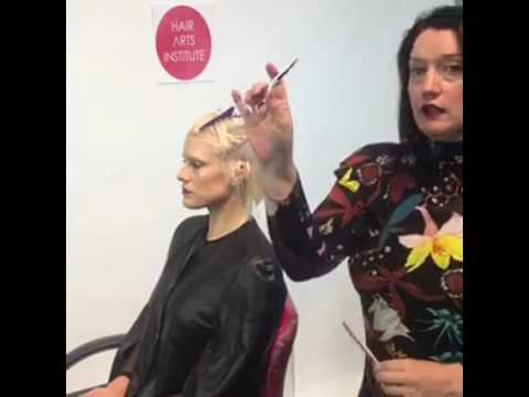 SR Education & American Salon FB Live How to Short Bob
