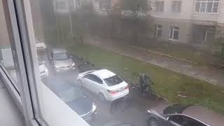 Курьез на дороге