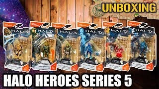 UNBOXING #41 📦  HALO HEROES SERIES 5 | MEGA CONSTRUX