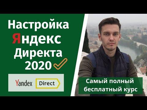 Настройка Яндекс Директа 2020. Как настроить Директ?