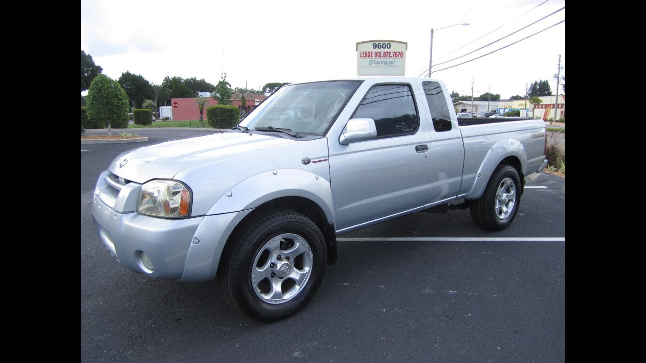 sold 2001 nissan frontier king cab s c 2wd meticulous. Black Bedroom Furniture Sets. Home Design Ideas