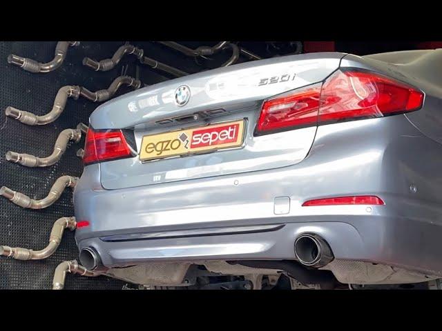 BMW G30 KUMANDALI VAREX EGZOZ SESİ