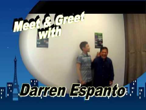 Darren Espanto with Radio Pinoy 94.7 fm staff - YouTube