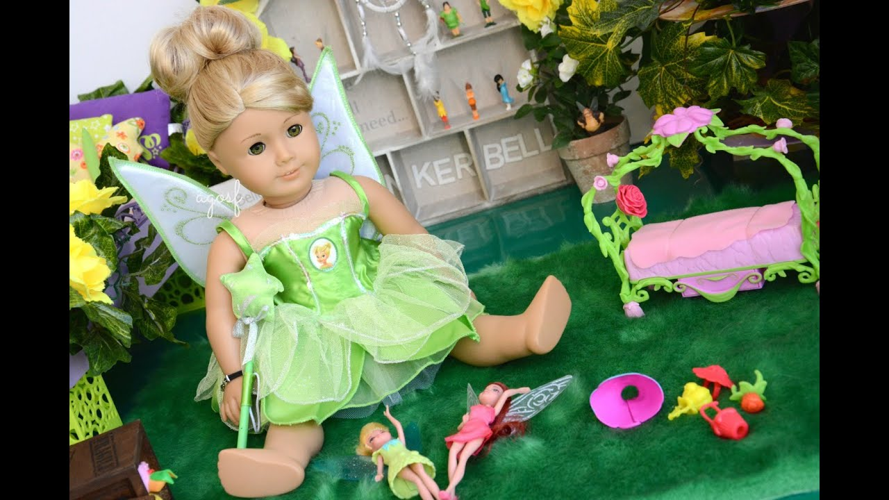 American Girl Doll Tinkerbell Room