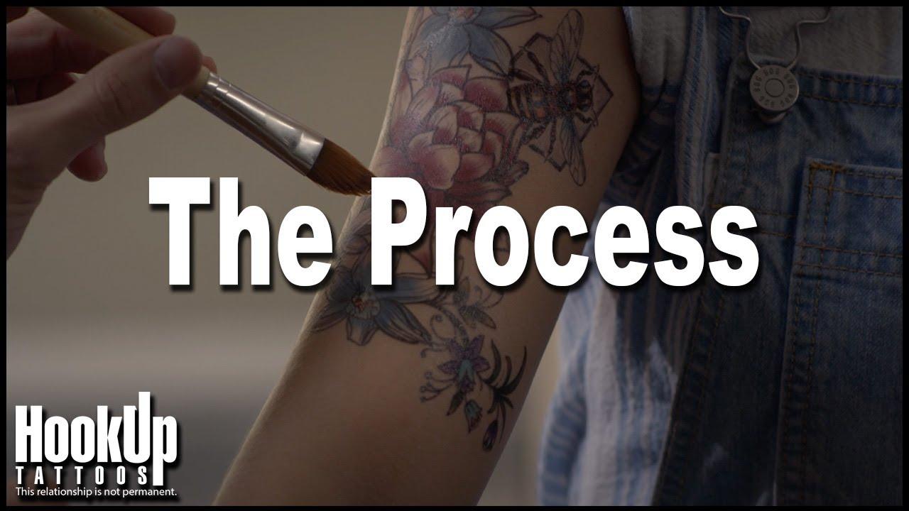 hook up proces