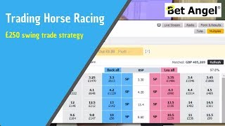 Betfair trading - Strategy behind a £250 swing trade