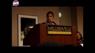 Mc Lyte teaching class @ Millersville Univer Nicki Minaj is a mesh of all female Mcs- All hail NICKI